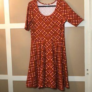 LuLaRoe 2X Nicole Dress